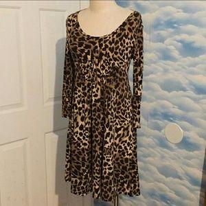 Michael Kors Leopard Dress Super Soft Like New SP